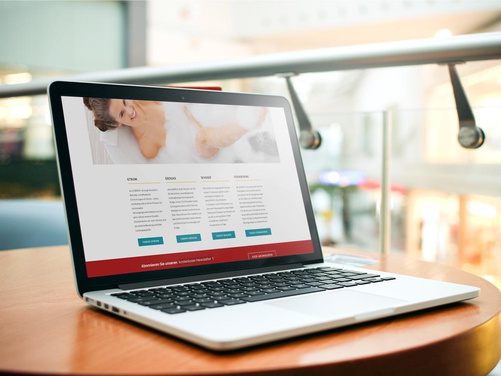 Ansprechendes und benutzerfreundliches Design: Ihre neue Website.